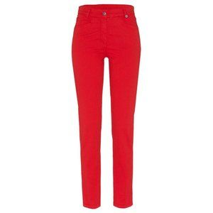 Golfino NWT 7/8 Slim Fit Red Dotted Golf Trousers